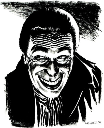 Dibujo The Man Who Laughs Ivan Garcia Commissions